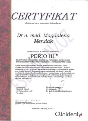 Doktor der Parodontologie Breslau